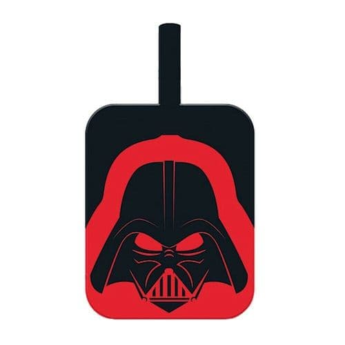 Star Wars Darth Vader Helmet PVC Luggage Tag Label