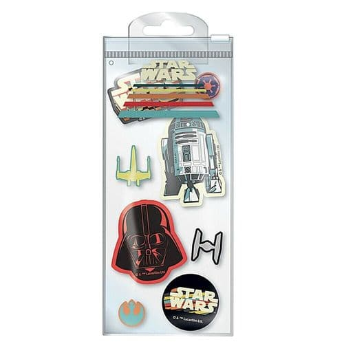 Star Wars Nostalgia Erasers Set