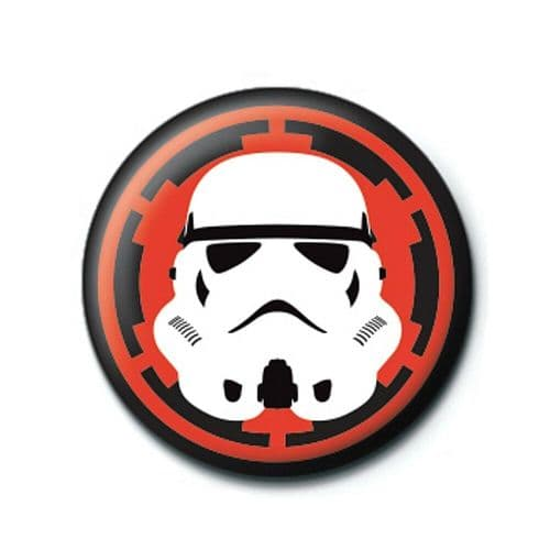 Star Wars Stormtrooper Button Badge