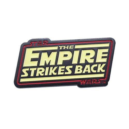 Star Wars The Empire Strikes Back Logo Pin Badge