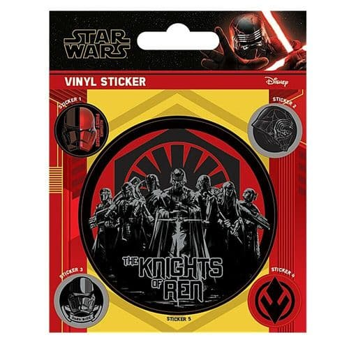 Star Wars The Knights Of Ren Vinyl Stickers Set Decals