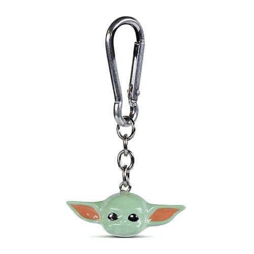Star Wars The Mandalorian Child Keyring 3D Polyresin Keychain Fob