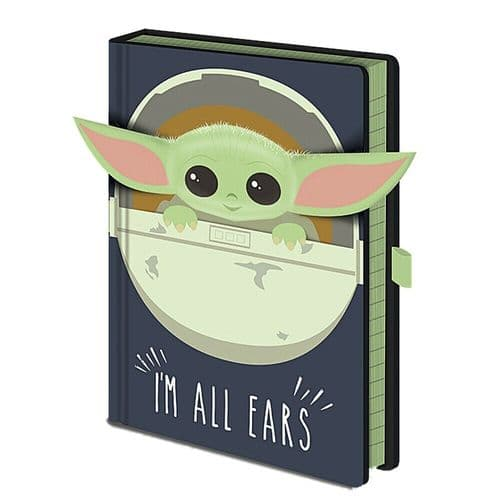 Star Wars The Mandalorian I'm All Ears Crib A5 Notebook Note Pad