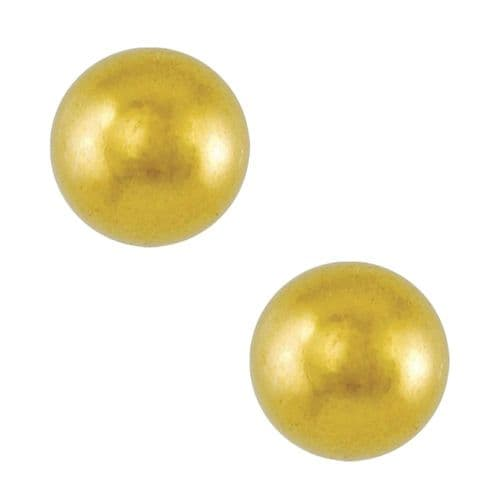 Studex Tiny Tips Traditional 4mm Ball Gold Plated Stud Earrings
