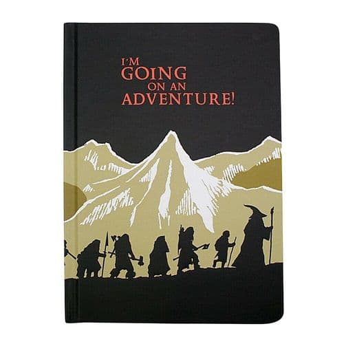 The Hobbit Going On Adventure A5 Notebook Note Pad