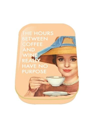 The Hours Between Mini Timeless Tin Trinket Pill Box