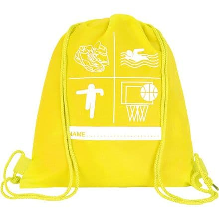 Florescent Yellow P.E Bag