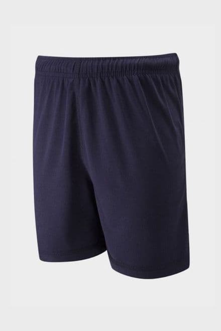 Plain Navy Sports shorts