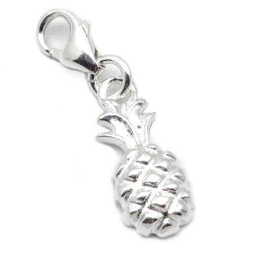 Horseshoe Sterling Silver Clip On Charm (9)