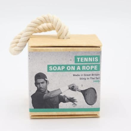 Tennis Soap on a Rope