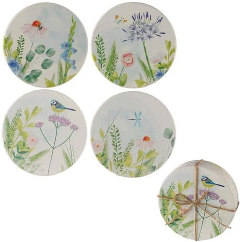 Botanical Gardens, Set of 4 Coasters