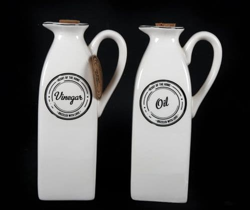 Heart of the Home Oil & Vinegar Pourers