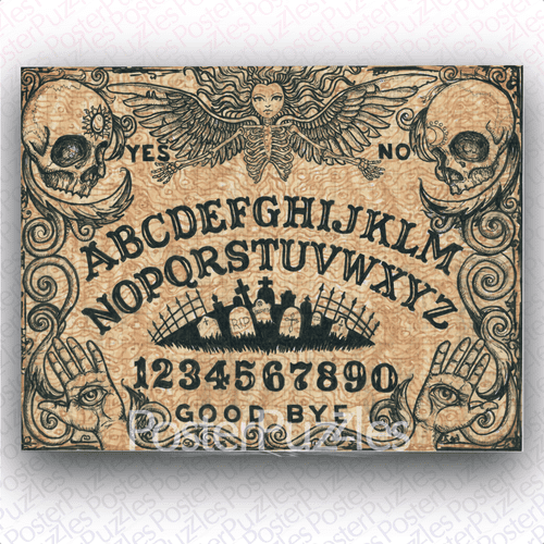 Ouija Board Jigsaw Puzzle by Shayne of the Dead