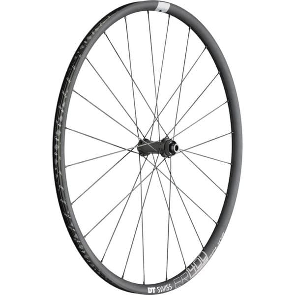 DT Swiss ER 1400 DICUT Clincher Disc Brake 100 x 12 Front Wheel