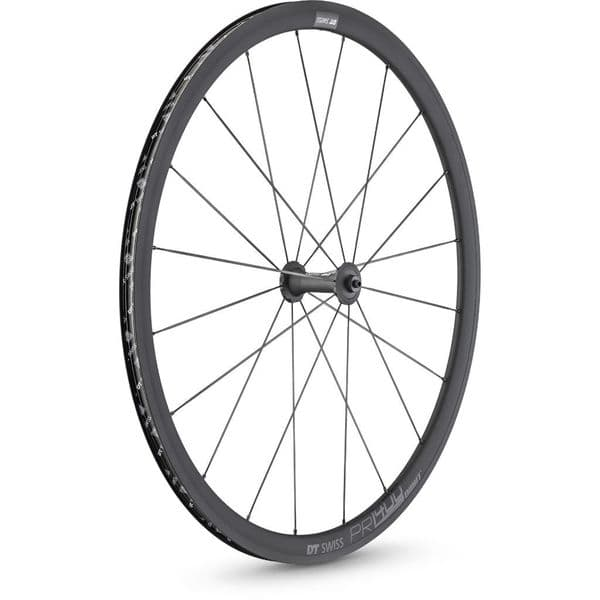 DT Swiss PR 1400 DICUT 32 mm Oxic Clincher QR Front Wheel