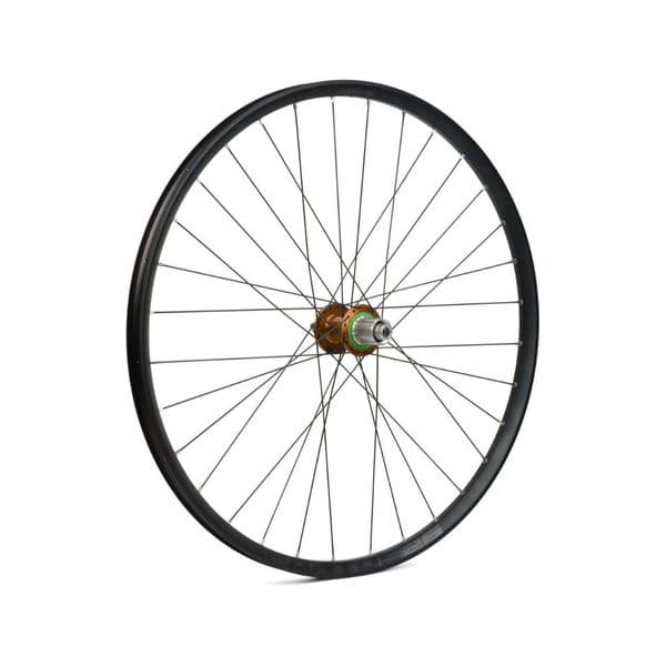 """Hope 26"""" Fortus 26W Rear Wheel, 135/142mm, Orange, Dispatched In 1 Day"""