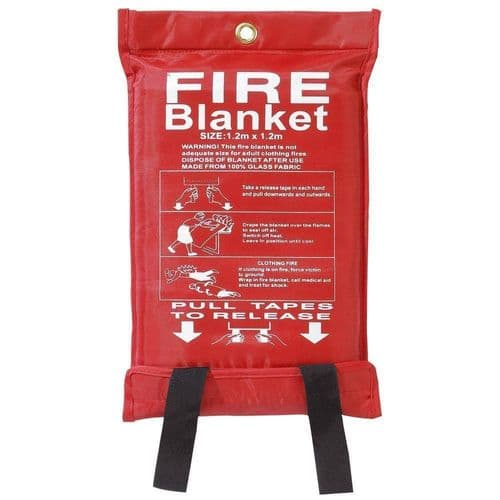 1M X 1M New Sealed Home Safety Fire Blanket Protection
