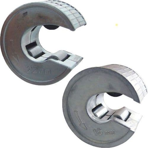 22mm & 15mm Copper Pipe Tube Cutters Slicers Pipe Slice