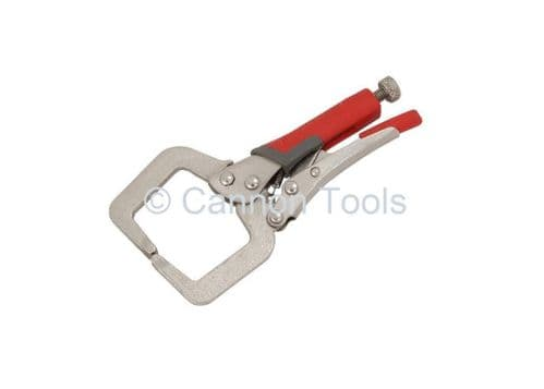 4 Locking C Clamp Welding Pliers With Soft Grip Handles
