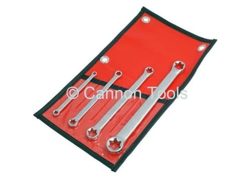 4pc Star Spanners E6 - E24 E Type Doubled Ended Ring