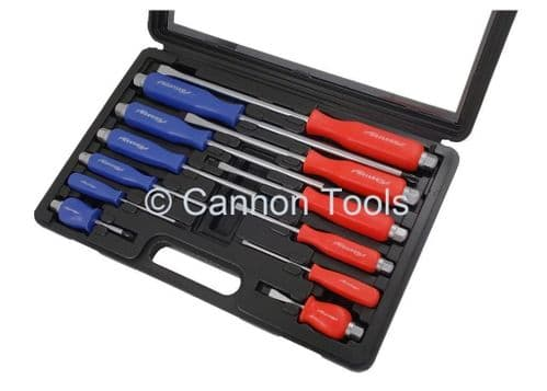 Hammer Through Screwdriver Set Flat and Philips 12pc