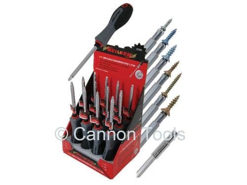 Multi-Head Screwdriver With 1/4Dr