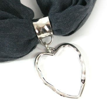 'Big Heart' Scarf Jewellery Presented in Gorgeous Gift Box