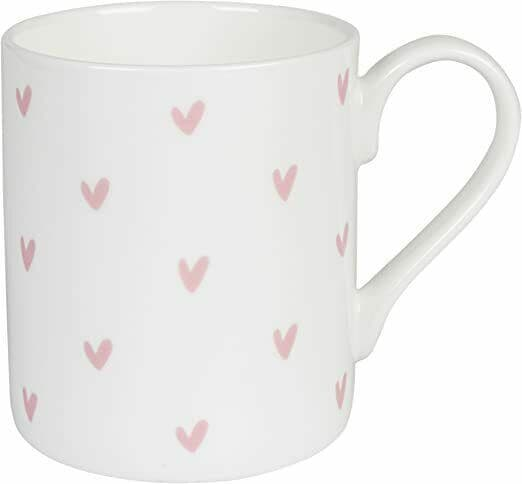 Fabulous Sophie Allport Large Mug with Pretty Pink Hearts