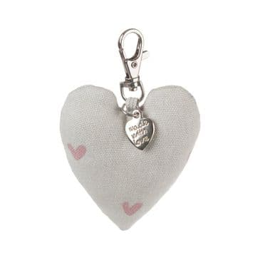 Gorgeous Sophie Allport Pretty Pink 'Hearts' Key Ring