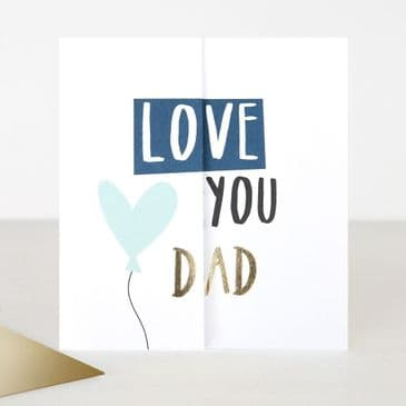 Love You Dad - Fold out and Fabulous Card