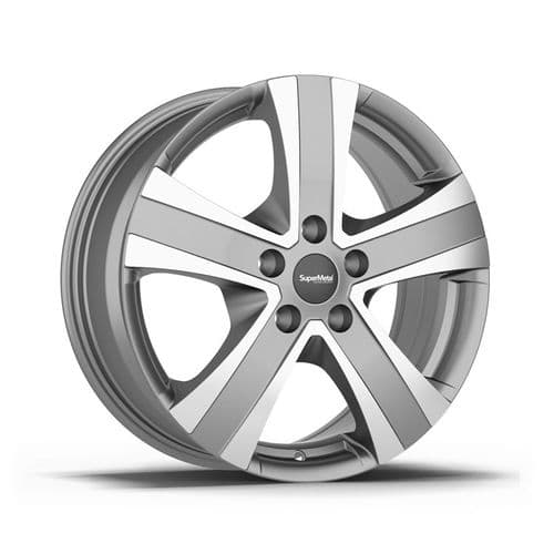 "18"" SuperMetal Hammer, Grey Polished Alloy Wheels"