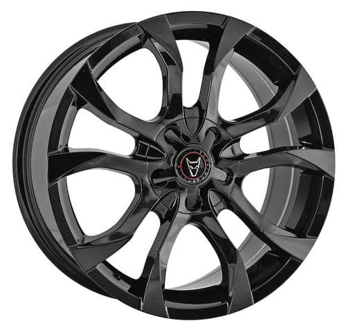 "18"" Wolfrace Eurosport Assassin Gloss Black Alloy Wheels"