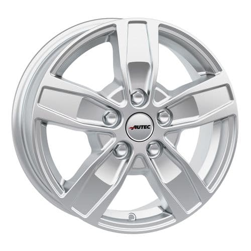 Autec Type Q - Quantro Brilliant Silver Alloy Wheels (5 Stud)