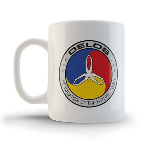Delos Mug, inspired by Westworld