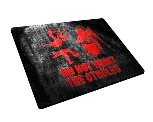 Do Not Taunt the Cthulhu Mouse Mat