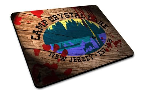 Friday the 13th Camp Crystal Lake Mouse Mat
