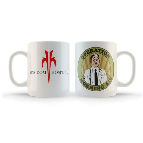Kingdom Hospital 'Operation Morning Air' Mug