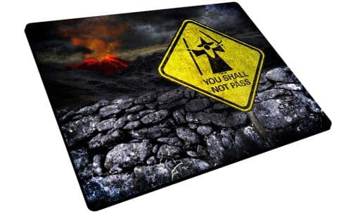 Lord of the Rings 'You Shall Not Pass' Mouse Mat