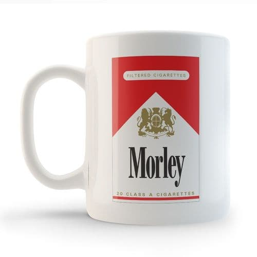 Morley Cigarette Mug inspired by The X Files.