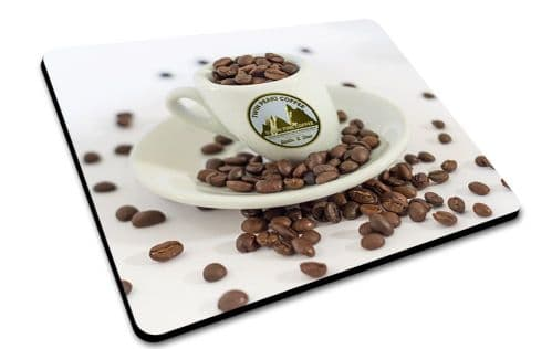 Twin Peaks Damn Fine Coffee Cup Mouse Mat