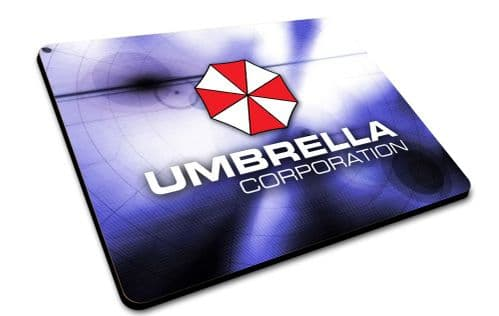 Umbrella Corporation Mouse Mat inspired by Resident Evil
