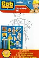 Colouring Set pencils and stickers
