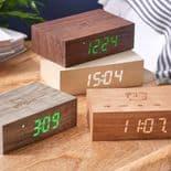 Gingko Flip Click Clock