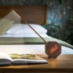 Gingko Octagon One Plus Portable Alarm clock desk light