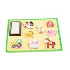 ImageToys Wooden puzzle stamps