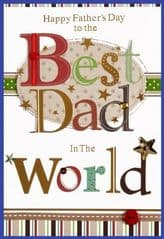 Isabels Garden Fathers Day card