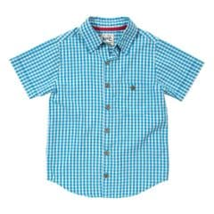 Kite Check Short Sleeved Shirt Boys