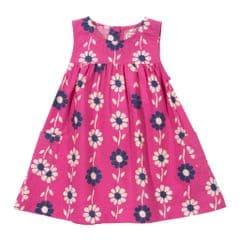 Kite Dress Potato Print Pink