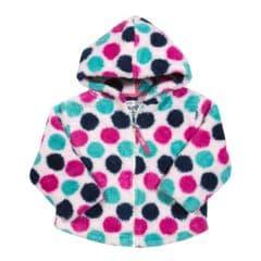 Kite Hooded Fleece Baby Girl