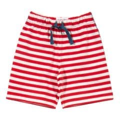 Kite Stripy Red Jersey Knit shorts Baby Boy 0 to 3 months